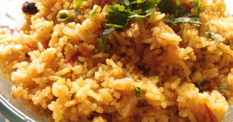 Tomato Rice – Rice cooked in Tomato Gravy