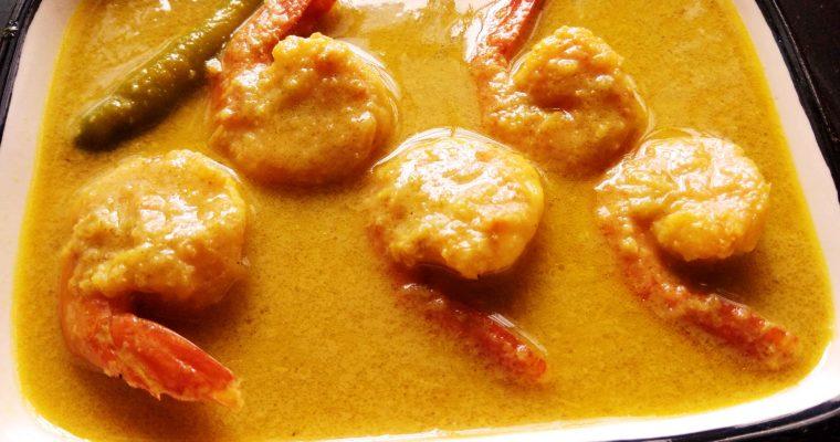 Chingri Malaicurry – Prawns in Coconut Milk Gravy