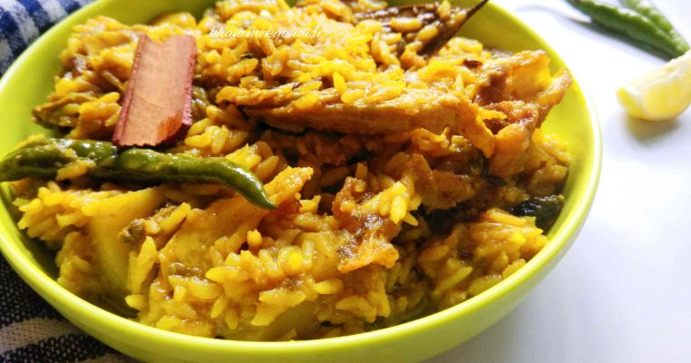 Muri Ghonto – Bengali Fish Head and Rice Curry